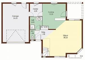 maison a ossature bois detail du plan de maison a With marvelous des plans pour maison 9 plan et photo de maison avec etage ossature bois par