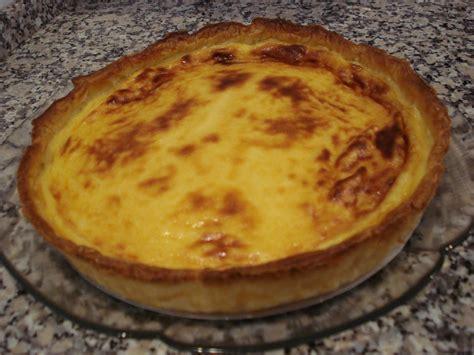 cuisine portugaise recettes tarte à la crème et au lait concentré sucré