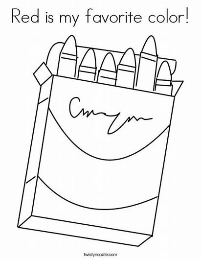 Coloring Favorite Box Crayons Favorites Login