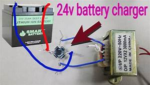 How To Make 24 Volt Battery Charger