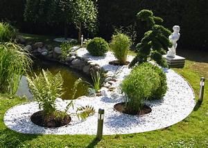Gartengestaltung Kleine Gärten Bilder : gartengestaltung kleine g rten mit kies haloring ~ Frokenaadalensverden.com Haus und Dekorationen
