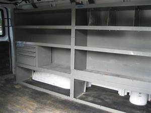 Buy Used 2006 Chevrolet Express Cargo Van 2500 135 U0026quot  Wb W  Partition  Shelving  And Racks   In