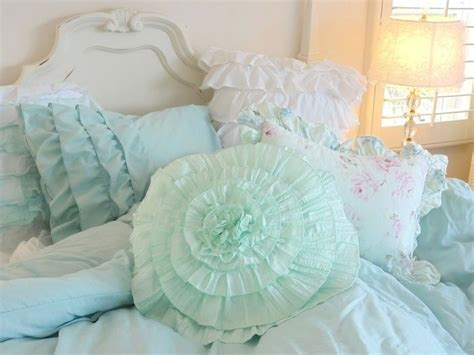 shabby chic bedding teal 1000 images about bedding on pinterest ruffle bedding bedding sets and shabby chic