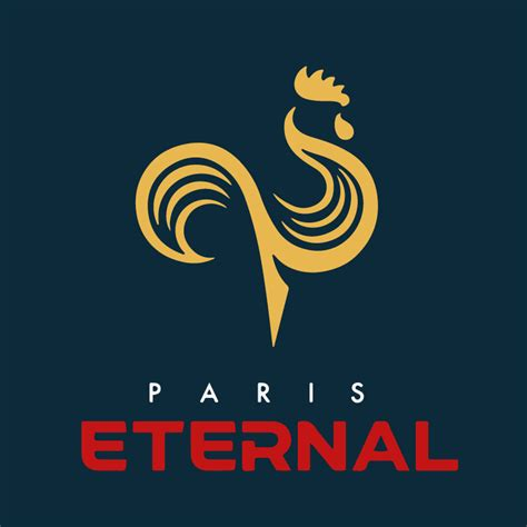 I adjusted the colours for the Paris Eternal logo ...