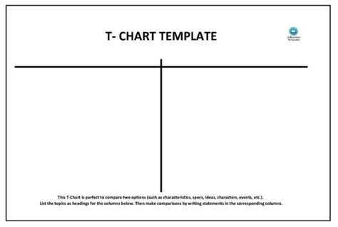 beautiful t chart word contemporary resume sles