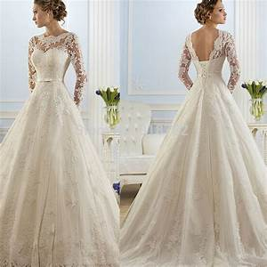 buy 2016 beautiful lace wedding dresses cheap line gown With cheap wedding dress stores