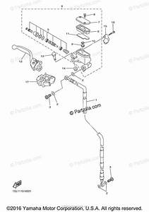 Yamaha Motorcycle 2017 Oem Parts Diagram For Front Master