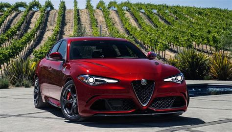 2019 Alfa Romeo Giulia Barracuda : 2019 Alfa Romeo Giulia Sedan Review Red Rwd