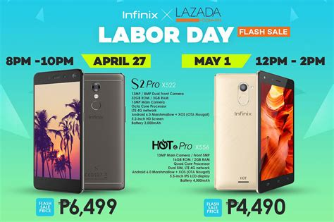 deal alert discounted infinix mobile devices  lazadas