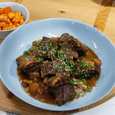 Delicious pot roast, potatoes, and carrots the way your mom used to make! Beef Short Rib Stew (Slow Cooker Kalbijjim) | Recipe (With images) | Short rib beef stew, Short ...