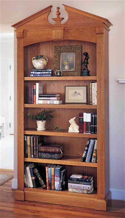Woodworking Plans Bookcase by Federal Bookcase Woodworking Plan From Wood Magazine