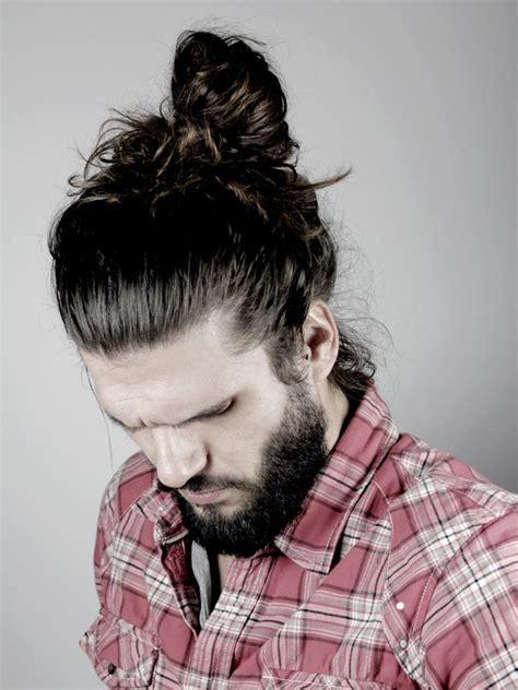 man bun hairstyle ideas inspirationseekcom
