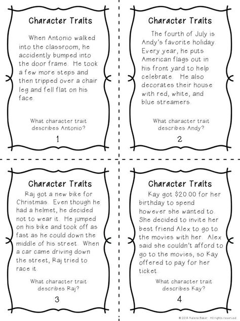 1000 ideas about character trait on character