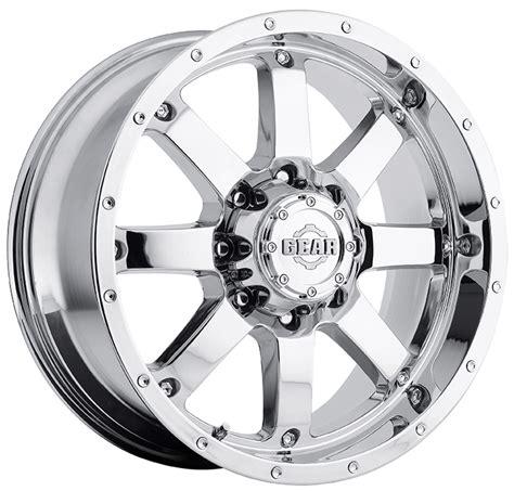 gear alloy 726c big block 726c 2108719 single 20x10 19 offset chrome ebay