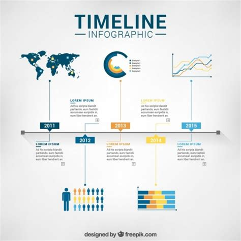 timeline web template free free vector timeline infographic template 12407 my