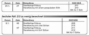 Bema Abrechnung : abrechnung nach bema und goz so vermeiden sie h ufige abrechnungsfehler teil 7 ~ Themetempest.com Abrechnung