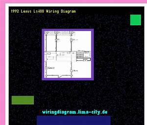 1992 Lexus Ls400 Wiring Diagram  Wiring Diagram 17476