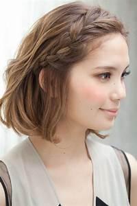 Tresse Cheveux Courts : coiffure tresse cheveux courts longs et mi longs ~ Melissatoandfro.com Idées de Décoration