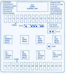 Bmw E39 2001 Main Fuse Box  Block Circuit Breaker Diagram