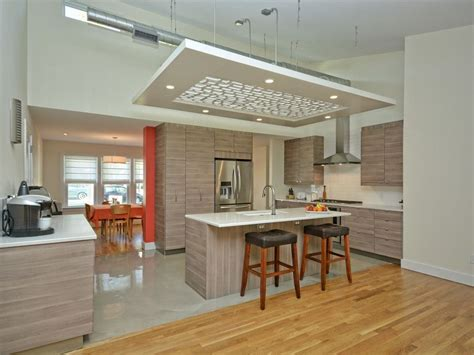 Lowered Ceiling Ideas by Awesome And Beautiful High Ceiling Modern Kitchen Design