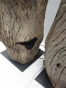 pair of tree trunk floor lamps for sale at 1stdibs With floor lamp tree trunk base