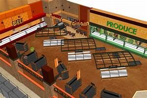 Maxi Foods Supermarket Design by I-5 Design