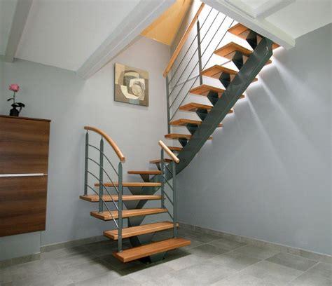 escalier bois metal pas cher refaire un escalier en bois beautiful escalier en bton cir de cration sud with refaire un