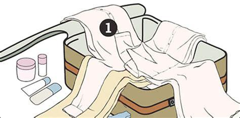 mit diesem trick packt ihr euren koffer ohne dass eure kleidung zerknittert