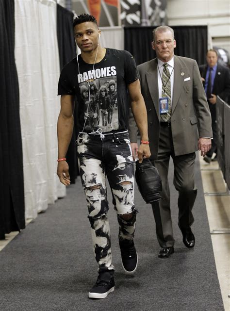 Nbas King Of Fashion Russell Westbrook Talks Style