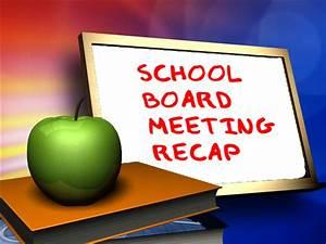 School Board Meeting Recap – Red River United