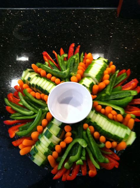 veggie tray  kids table  reception veggiecheesefruitrelish displays veggie tray