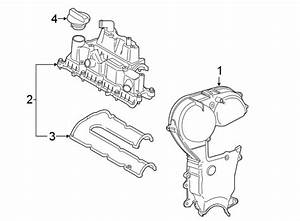 Ford Transit Connect Engine Timing Cover