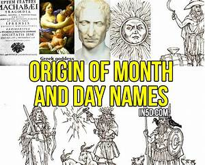 Origin Of Month And Day Names   In5d