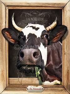 Tete De Vache Deco : t te de vaches com autrefois ~ Melissatoandfro.com Idées de Décoration