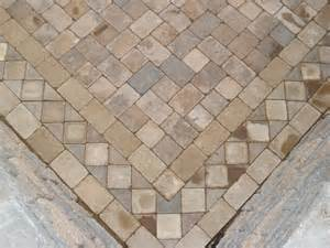 pavers designs paver pattern up view of