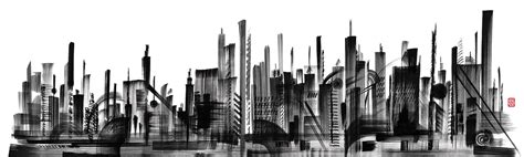 construction window skyline wall coverings wallpapers from londonart