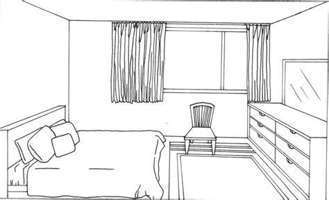 coloriage chambre dessin de chambre chaios com