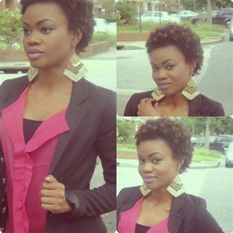 twa short natural hairstyles images  pinterest