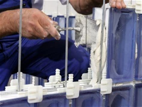 kit montaggio vetromattone tradizionale accessori