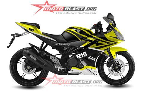 modif striping yamaha r15 black kanji2b jpg modif striping yamaha r15 black yellow warna cerah asyik oeeyy motoblast