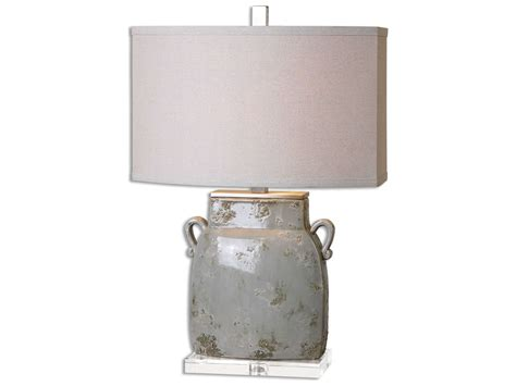 Uttermost Melizzano Ivory-gray Table Lamp Small Livingroom Design Stadium Seating Couches Living Room Albany Capri 2 Piece Sectional Our Generation Furniture Inspiration Cheap Diningroom Combo Tool Free Cabinets Target