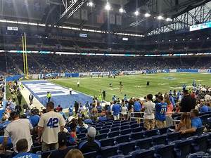 Ford Field Seating Chart Concert Ford Field Section 101 Detroit Lions Rateyourseats Com