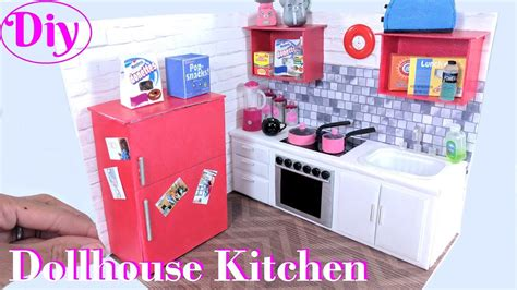 Diy Miniature Dollhouse Kitchen