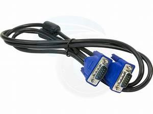 Vga Computer Cable Vga To Vga 15pin  4ft  1 3m Monitor Lcd