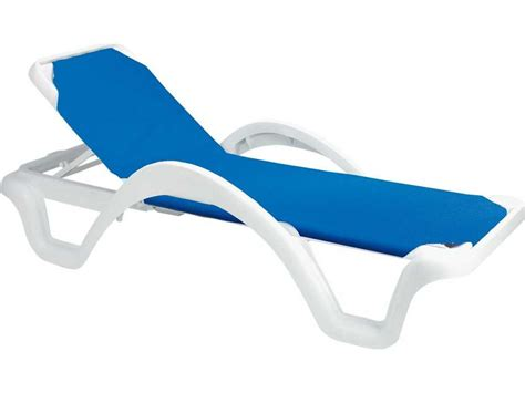 chaise solde grosfillex resin adjustable sling chaise sold in