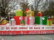 Church Christmas Parade Float Ideas