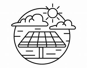 solar energy coloring page coloringcrewcom With how to a solar cell