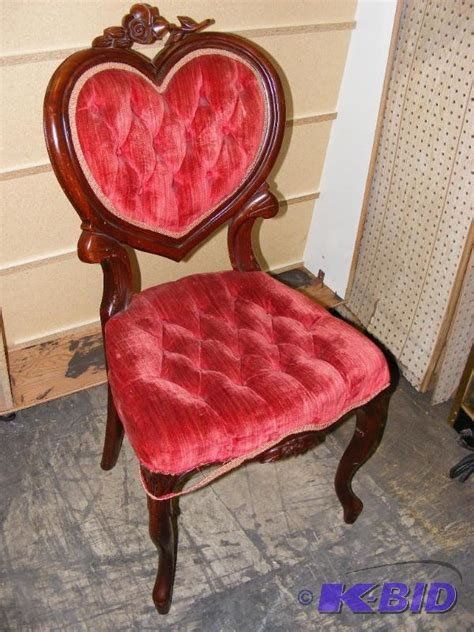 vintage chair shaped mankie estate