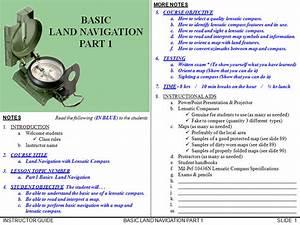 Land Navigation Guidebooks