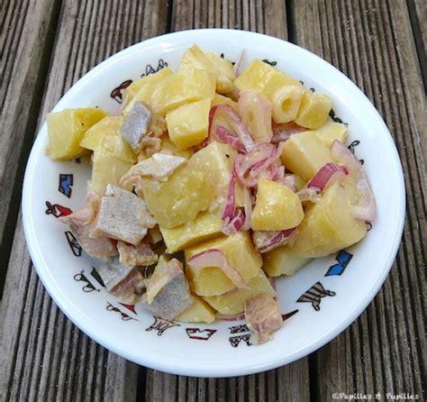 salade de pommes de terre aux harengs fum 233 s